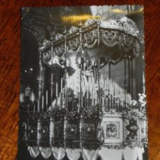 Postales: ANTIGUA FOTO POSTAL DE LA PATRONA DE PUERTOLLANO - CIUDAD REAL - SEMANA SANTA - NO CIRCULADA.. Lote 39605764