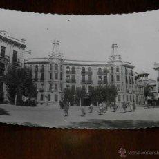 Postales: ANTIGUA FOTO POSTAL DE ALBACETE PLAZA GABRIEL LODARES - ED AISA Nº 207 - SIN CIRCULAR. Lote 204635508