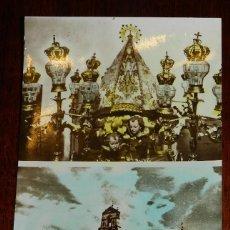 Postales: ANTIGUA FOTO POSTAL DE OROPESA (TOLEDO) VIRGEN DE PEÑITAS Y ERMITA, ED. FERNANDEZ 21, ESCRITA. Lote 39611968