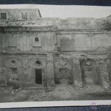 Postales: ANTIGUA FOTOGRAFIA DEL MONASTERIO MERCEDARIO DE HUETE (CUENCA) 1956., MAS GRANDE QUE UNA POSTAL, MID. Lote 39613005