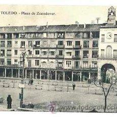Cartes Postales: TOLEDO. PLAZA DE ZOCODOVER. HAE. SIN CIRCULAR. Lote 40280159