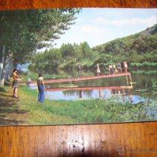 Postales: RARA POSTAL - TABLA DE LA YEDRA - PIEDRABUENA - CIUDAD REAL -. Lote 40330537
