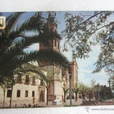Postales: POSTAL TALAVERA DE LA REINA - PLAZA JOSE ANTONIO Y COLEGIATA - 1968 - SIN CIRCULAR - ESCUDO ORO 6. Lote 40379908