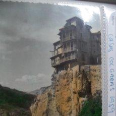 Postales: POSTAL DE CUENCA. CASAS COLGADAS. COLOREADA. AÑOS 60. Lote 40641354