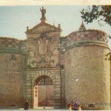 Postales: TOLEDO, PUERTA DE BISAGRA, EDITOR HELIOTIPIA ARTISTICA ESPAÑOLA Nº 2. Lote 40805289