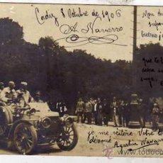Postales: POSTAL FOTOGRÁFICA. EXCURSION REGIA. TOLEDO. JUNIO 1905. CIRCULADA. REVERSO SIN DIVIDIR.. Lote 41127048