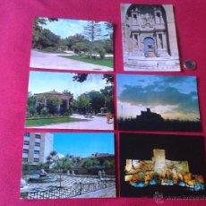 Cartes Postales: LOTE DE 6 POSTALES ALMANSA ALBACETE FITER NO ESCRITAS NI CIRCULADAS AÑOS 60 70. Lote 41213421