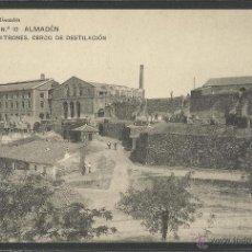 Postales: ALMADEN - BUITRONES CERCO DE DESTILACION - SERIE 1 Nº10 - E.GALLEGO - (18953). Lote 41265841