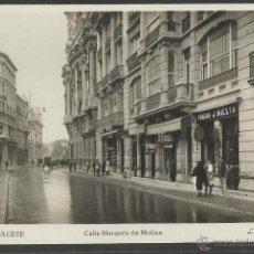 Postales: ALBACETE - 14 - CALLE MARQUES DE MOLINS - ROISIN FOTOGRAFICA - (18955). Lote 41265958