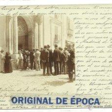Postales: (PS-38778)POSTAL FOTOGRAFICA DE GUADALAJARA-IGLESIA DE SAN NICOLAS,1902. Lote 41403023