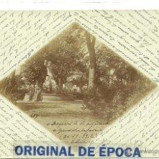 Postales: (PS-38777)POSTAL FOTOGRAFICA DE GUADALAJARA-DEPOSITO DE AGUA,1902. Lote 41403050