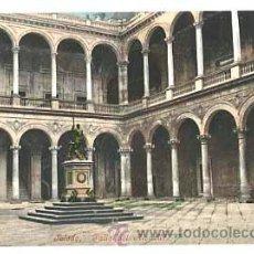 Postales: TOLEDO PATIO DEL ALCAZAR. PURGER & CO. 2192. REVERSO SIN DIVIDIR. SIN CIRCULAR. Lote 41514474
