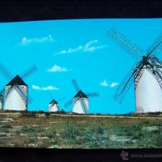 Postales: POSTAL SIN CIRCULAR CAMPO DE CRIPTANA HELIOTIPÌA ARTÍSTICA ESPAÑOLA Nº5 MOLINOS MANCHEGOS. Lote 41712199