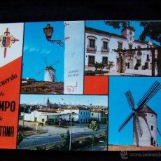 Postales: POSTAL SIN CIRCULAR CAMPO DE CRIPTANA HELIOTIPÌA ARTÍSTICA ESPAÑOLA Nº10 CIUDAD REAL. Lote 41712459