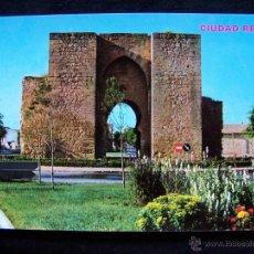 Postales: POSTAL FOTOGRÁFICA SIN CIRCULAR PUERTA DE TOLEDO CIUDAD REAL ED PARÍS J.M Nº 606. Lote 41787087
