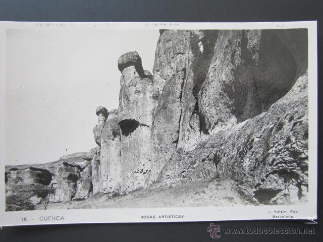 POSTAL CUENCA. ROCAS ARTÍSTICAS. (Postales - España - Castilla La Mancha Antigua (hasta 1939))