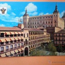 Postales: TOLEDO. PLAZA DE ZOCODOVER Y ALCÁZAR. Lote 42157149