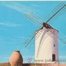 Postales: RUTA DEL QUIJOTE. ALCÁZAR DE SAN JUAN. MOLINO EL DONCEL. AÑOS 60.. Lote 42307567