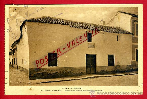 Postal Alcazar De San Juan Ciudad Real Casa D Comprar Postales Antiguas De Castilla La Mancha En Todocoleccion 42613801