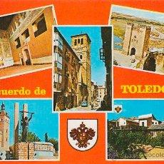 Postales: TOLEDO, EDITOR: JULIO DE LA CRUZ Nº 1974. Lote 42669168