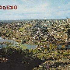 Postales: TOLEDO, VISTA GENERAL, EDITOR: ARRIBAS Nº 1344. Lote 42669265