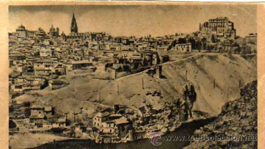 TOLEDO Nº 12 VISTA PARCIAL PANORÁMICA HELIOTIPIA ARTÍSTICA ESPAÑOLA SIN CIRCULAR (Postales - España - Castilla La Mancha Antigua (hasta 1939))