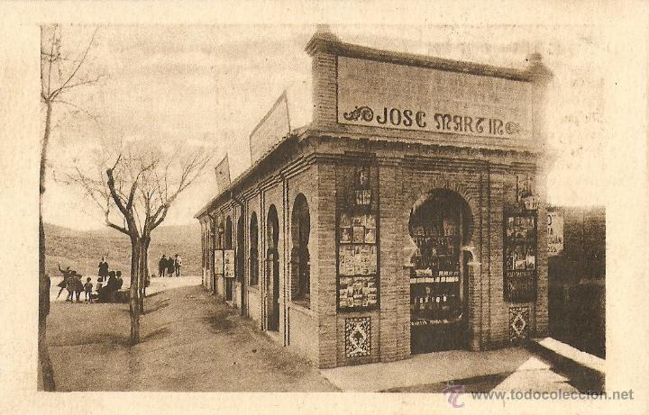 TOLEDO - PROPAGANDA TALLER DAMASQUINADOS DE JOSÉ MARTÍN. (Postales - España - Castilla La Mancha Antigua (hasta 1939))