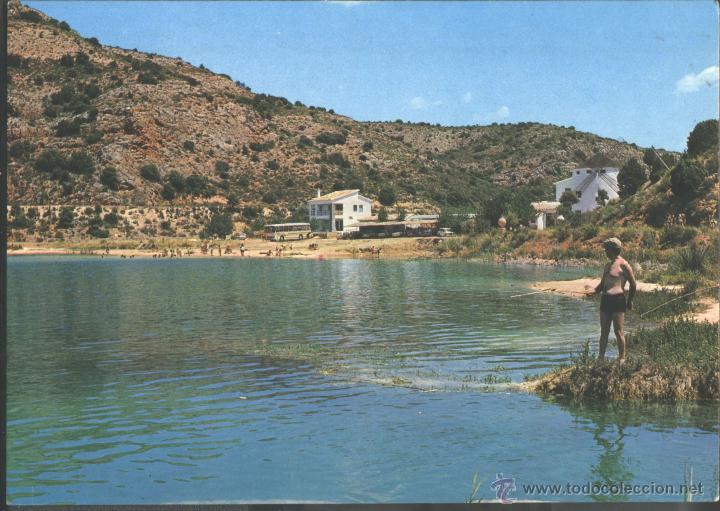 LAGUNAS DE RUIDERA - HOTEL EL MOLINO Y LAGUNA REDONDILLA (Postales - España - Castilla la Mancha Moderna (desde 1940))