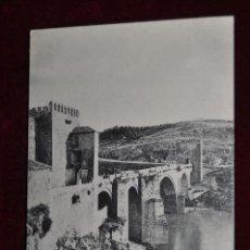 Postales: ANTIGUA POSTAL DE TOLEDO. PUENTE DE SAN MARTIN. HAUSER Y MENET. CIRCULADA. Lote 42889221