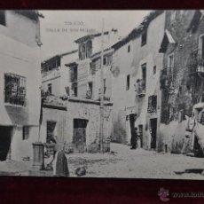 Postales: ANTIGUA POSTAL DE TOLEDO. CALLE DE SAN MIGUEL. HAUSER Y MENET. SIN CIRCULAR. Lote 42927090