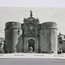 Postales: POSTAL SIN CIRCULAR TOLEDO PUERTA DE VISAGRA MANIPEL Nº 142.05 14 X 9 CM. Lote 42951541