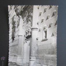 Postales: FOTOGRAFÍA GUADALAJARA. PALACIO DE LOS DUQUES DEL INFANTADO. CIRCULADA. . Lote 43509174