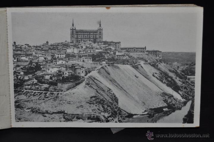 Postales: CARNET POSTAL DE TOLEDO. 1ª SERIE. DIFERENTES VISTAS. FOTPIA. HAUSER Y MENET. 20 TARJETAS - Foto 3 - 43741916