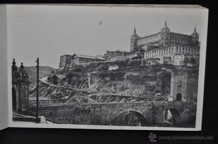 Postales: CARNET POSTAL DE TOLEDO. 1ª SERIE. DIFERENTES VISTAS. FOTPIA. HAUSER Y MENET. 20 TARJETAS - Foto 4 - 43741916