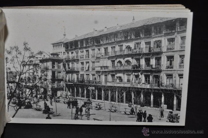 Postales: CARNET POSTAL DE TOLEDO. 1ª SERIE. DIFERENTES VISTAS. FOTPIA. HAUSER Y MENET. 20 TARJETAS - Foto 8 - 43741916