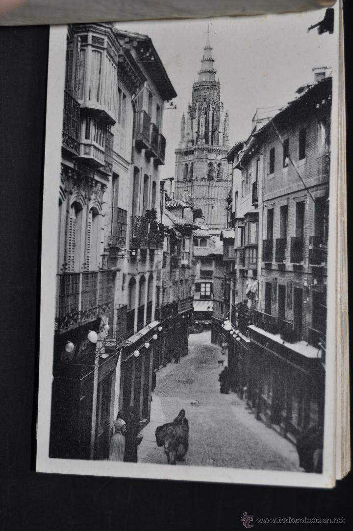 Postales: CARNET POSTAL DE TOLEDO. 1ª SERIE. DIFERENTES VISTAS. FOTPIA. HAUSER Y MENET. 20 TARJETAS - Foto 10 - 43741916