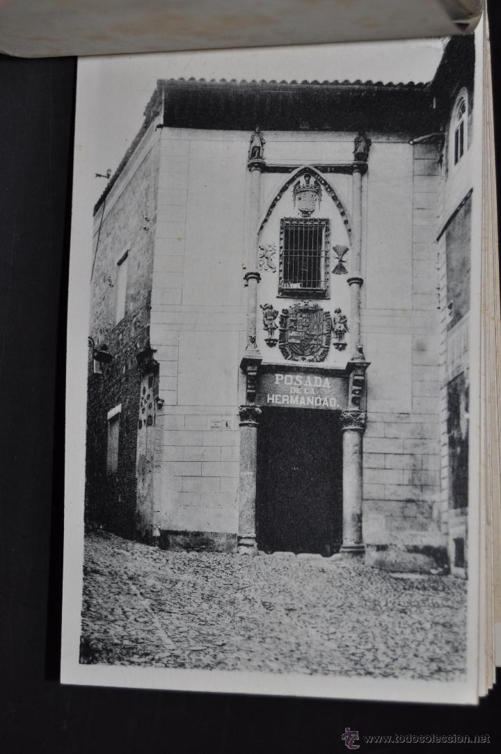 Postales: CARNET POSTAL DE TOLEDO. 1ª SERIE. DIFERENTES VISTAS. FOTPIA. HAUSER Y MENET. 20 TARJETAS - Foto 12 - 43741916