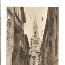 Postales: POSTAL FOTOGRÁFICA TOLEDO – CALLE DE SANTA ISABEL. Lote 43814491