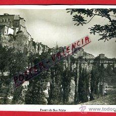 Postales: POSTAL CUENCA, PUENTE DE SAN PABLO, P94979. Lote 43881677