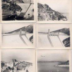 Postales: 17 FOTOGRAFÍAS DEL EMBALSE DE BUENDÍA- MEDIDAS 10,5 X 7,5 CMS. Lote 43962020