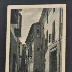 Postales: ANTIGUA POSTAL DE MOLINA DE ARAGÓN. GUADALAJARA. CALLE DE LAS CUATRO ESQUINAS. FOT. LEOPOLDO. Lote 44167975