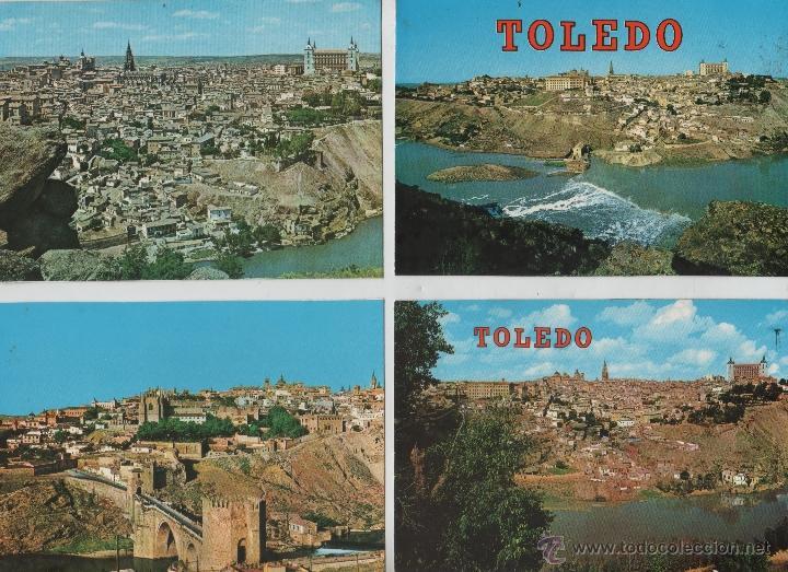 POSTALES-LOTE DE 27 POSTALES DE TOLEDO (Postales - España - Castilla la Mancha Moderna (desde 1940))