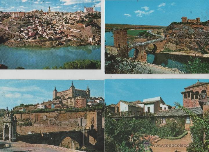 Postales: Postales-Lote de 27 postales de Toledo - Foto 2 - 44173250