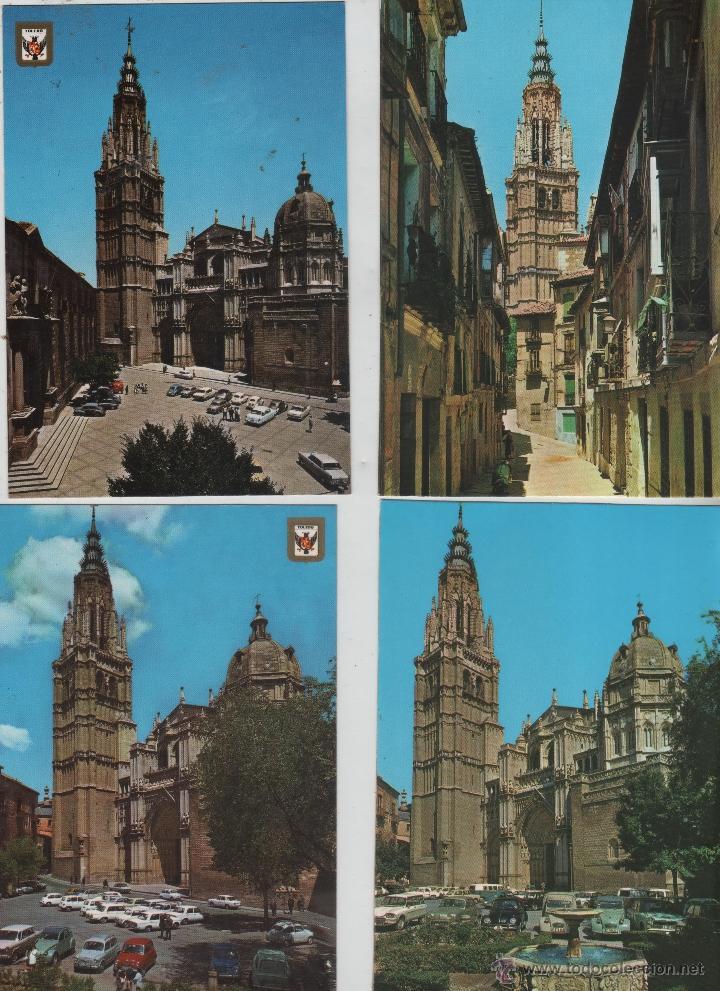 Postales: Postales-Lote de 27 postales de Toledo - Foto 3 - 44173250