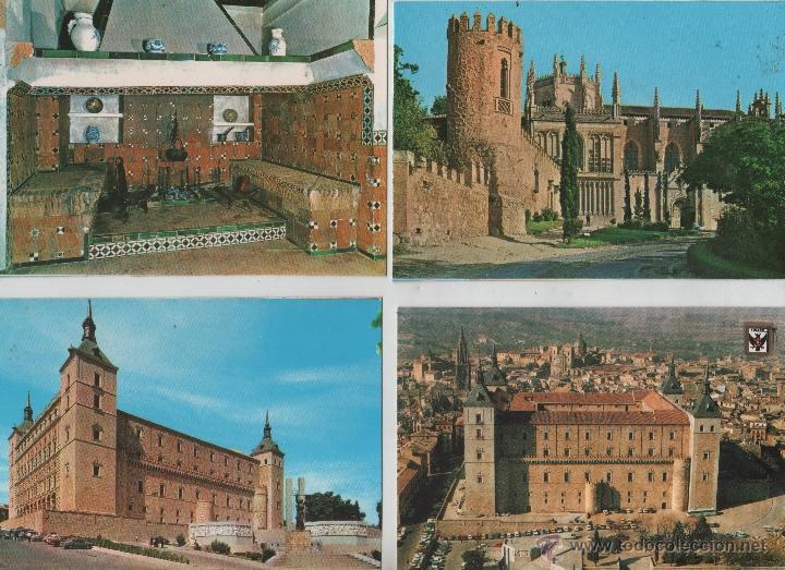 Postales: Postales-Lote de 27 postales de Toledo - Foto 4 - 44173250