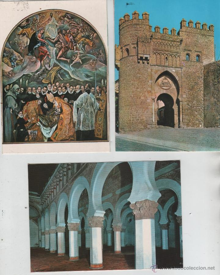Postales: Postales-Lote de 27 postales de Toledo - Foto 5 - 44173250