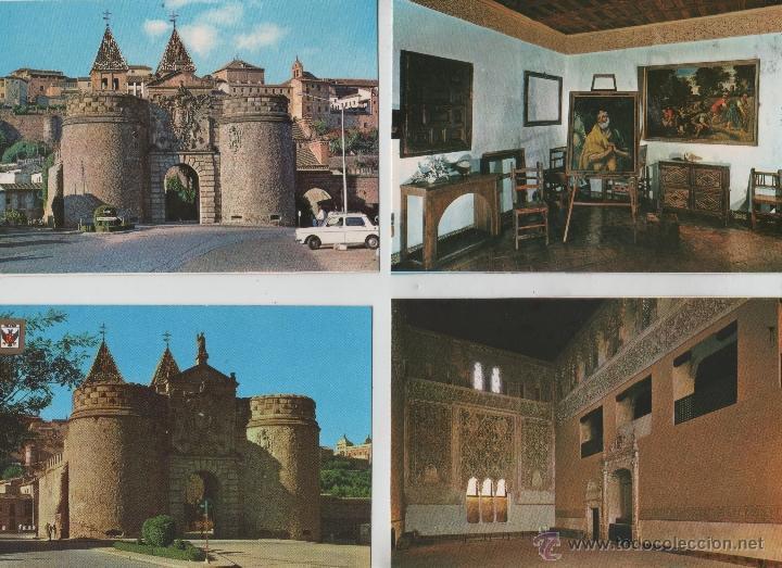 Postales: Postales-Lote de 27 postales de Toledo - Foto 6 - 44173250