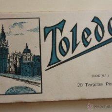 Postales: BLOC, 20 TARJETAS POSTALES, TOLEDO DE L.ROISIN FOTOGRAFO. Lote 44264349