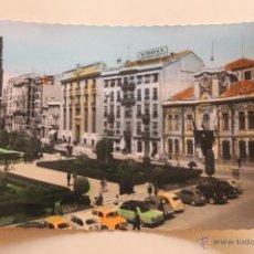 Postales: POSTAL ALBACETE, PLAZA DEL CAUDILLO, COLOREADA. Lote 44265279