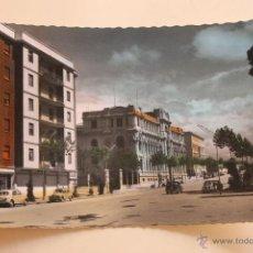 Postales: POSTAL ALBACETE, AVDA. DE RODRIGUEZ ACOSTA. COLOREADA. Lote 44265329